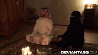 Fucking my arab wife alone in bedroom.