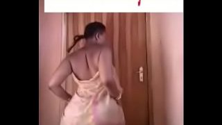 South African Woman Naught Dance
