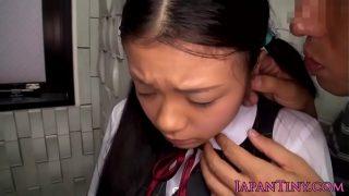 Tiny oriental teens spunky mouth