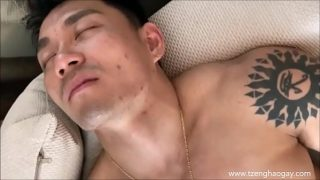 Hot Handsome Asian Muscular Daddy