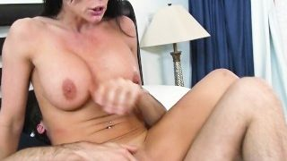 Lonely mom Kendra Lust is seduced by one her son's friends