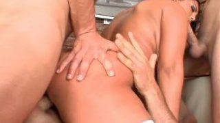 Jasmine Black Fucked Anal By 3 Guys